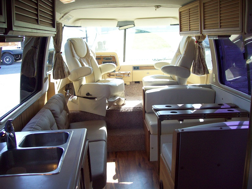 gmc motorhome interior restoration