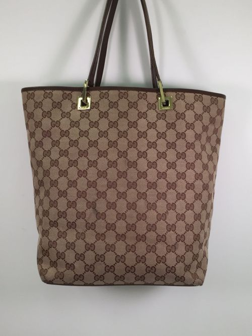 Gucci - Vintage Double G Tote