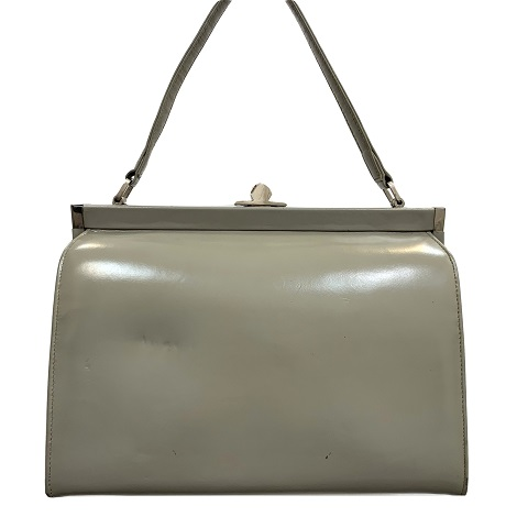 61fadd646787 Paragon – Small Gray Leather Satchel