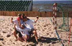 BeachHandball  Turnierbewertung von den Teilnehmern  Cuxhaven 1999  wwwhandballinfode