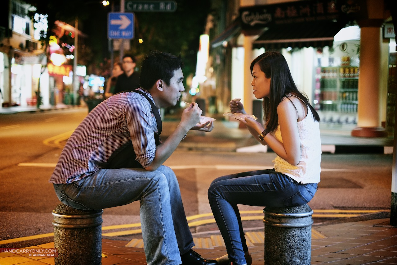 couple sharing ice cream joo chiat