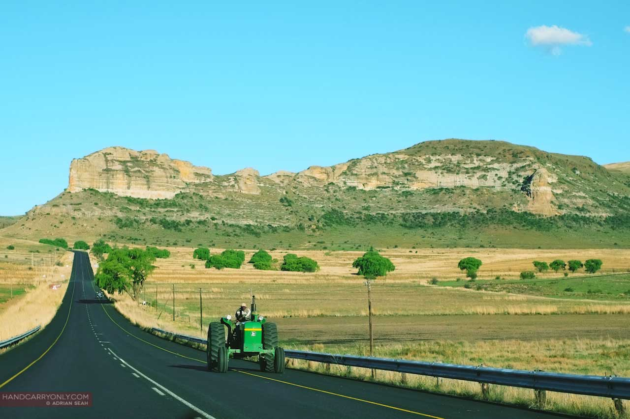 Clarens South Africa in the sunshine