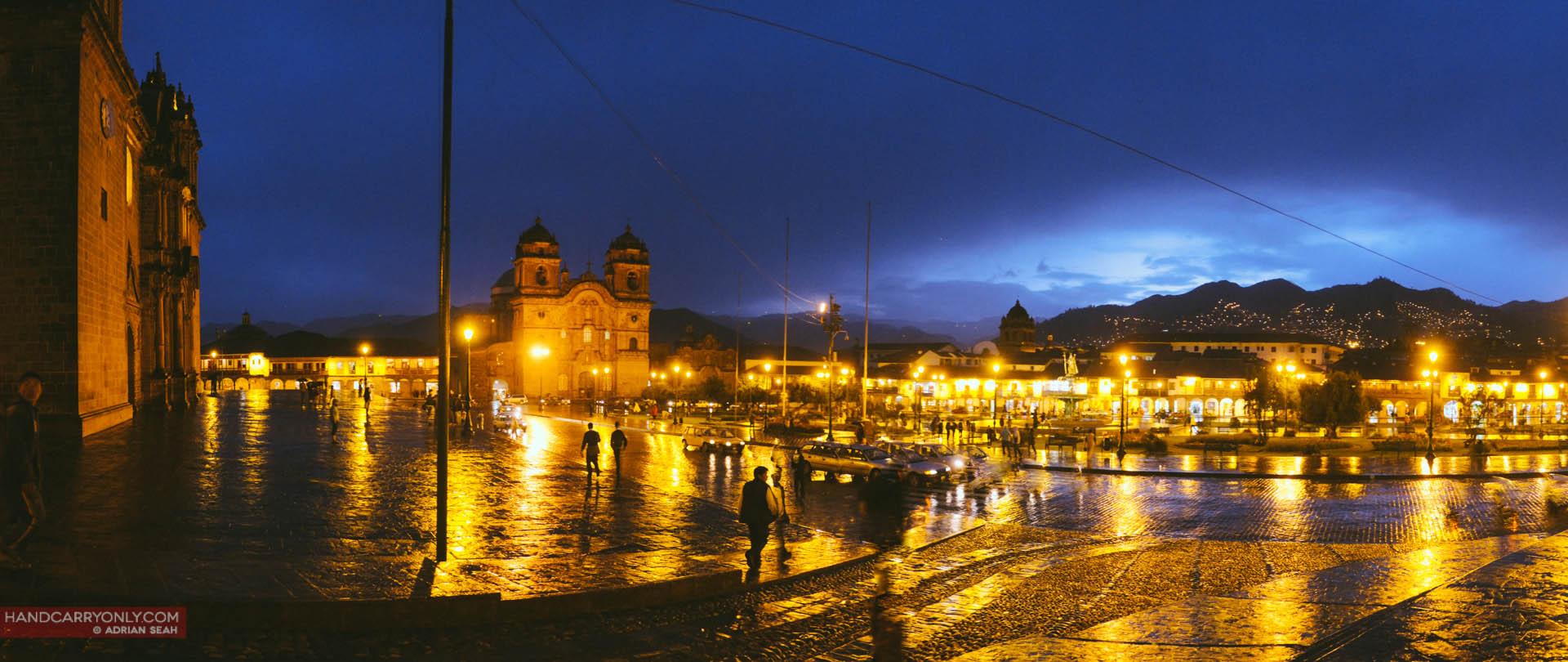 evening in cuzco peru