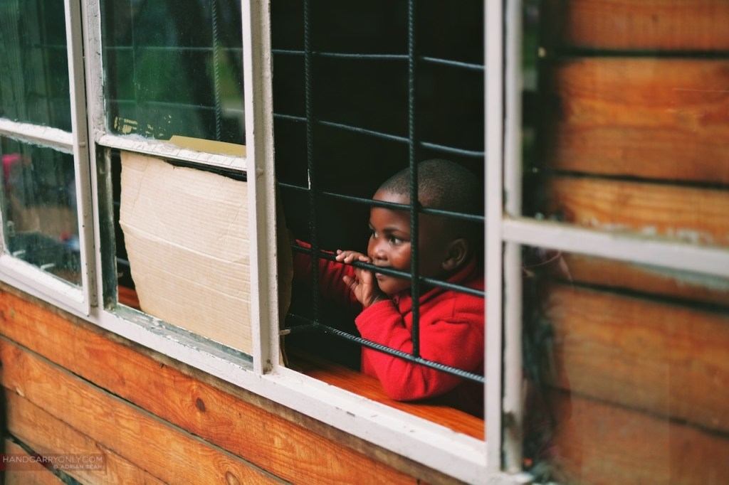 child at the window kurland village