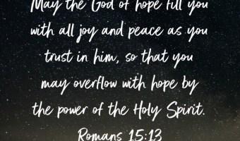 Grace. Amazing grace.