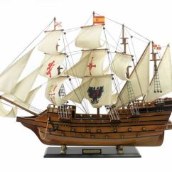 Uss Constitution Diagram Fiat Ducato Wiring Buy Wooden Spanish Galleon Tall Model Ship Limited 34 Inch -