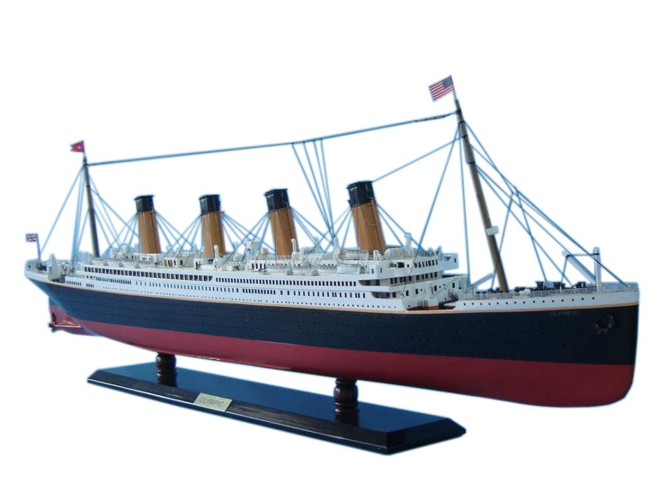 Buy RMS Olympic Limited Model Cruise Ship 40 Inch Ship