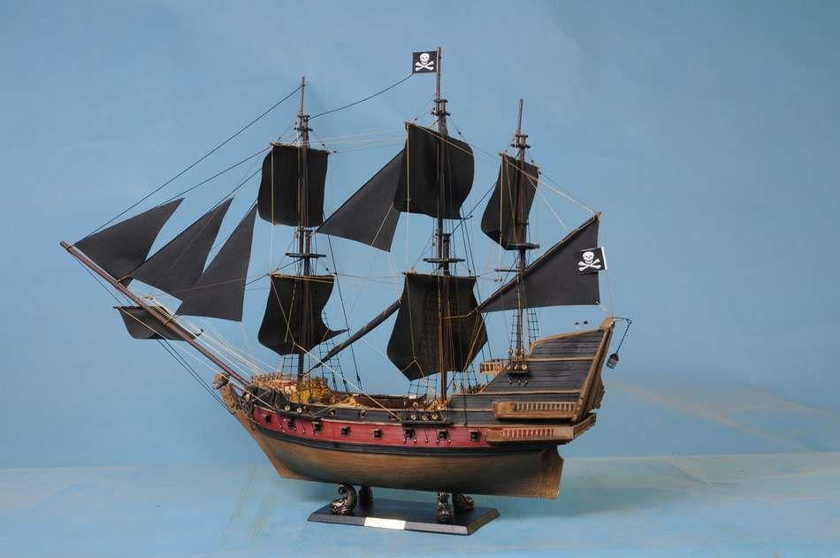 Buy Captain Kidds Black Falcon Limited Model Pirate Ship