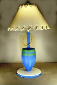 Blue Buoy Electric Lamp 30""