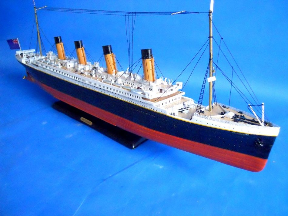 Buy RMS Britannic Limited 30in Model Cruise Ship  Model Ships