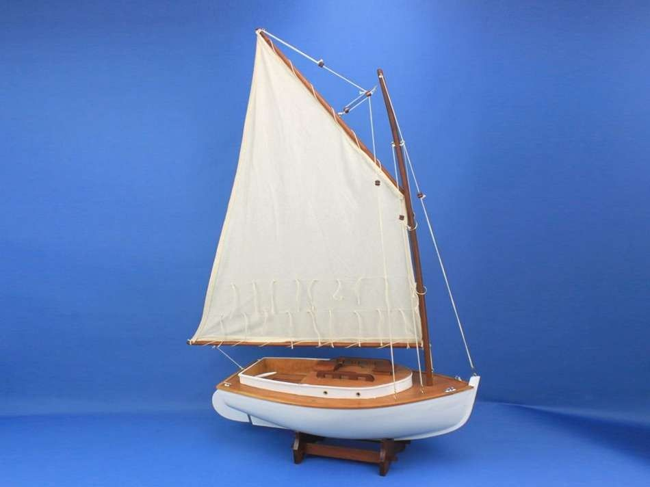 Buy Wooden Cape Cod Cat Limited Model Sailboat Decoration