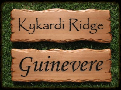 House Name Signs Wood