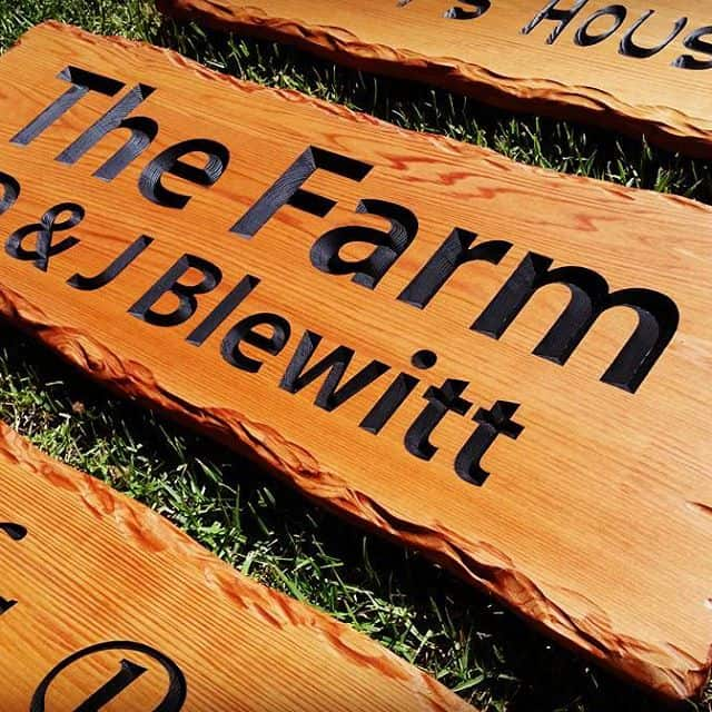 Farm signs made to order