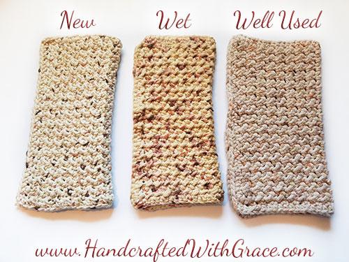 Best Crochet Dish Cloth or Wash Cloth Pattern Ever