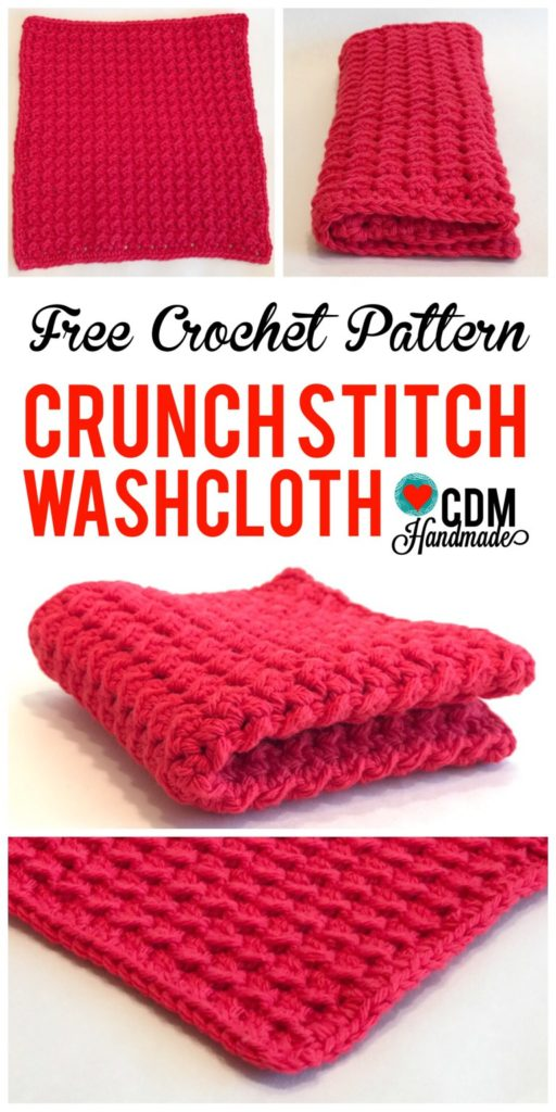 Best Crochet Dish Cloth Pattern from CDMHandmade.com