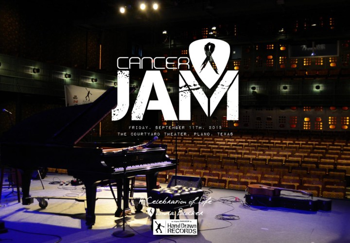 Hand Drawn Presents: Cancer Jam 2015 // Homepage