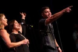 LeeAnn Sexton and Dustin Blocker: Cancer Jam 2015