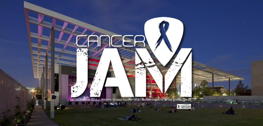 Cancer Jam 2016 at Annette Strauss Square, November 6, 2016 // Original photo by Dallas Morning News