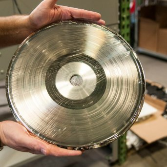 "Stamper : Hand Drawn Pressing ""Vinyl Record Manufacturer"" Spring 2017 // Courtesy Austin James, CrateDiggersDallas.com"