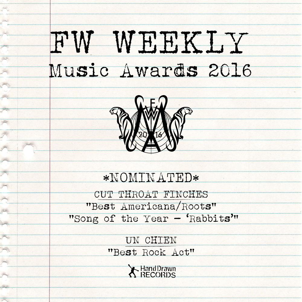 FW Weekly Music Awards 2016