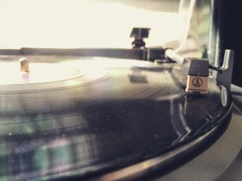 Hand Drawn Pressing: A Turntable