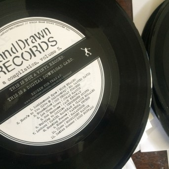 Hand Drawn Records A Compilation, Volume 5: Vinyl Download Card