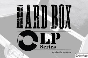 HARD BOX // The LP Series // Vinyl Record Merch Case by Woodbox Creative