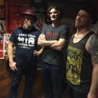 Sean Russell (Cut Throat Finches), Stephen Beatty (Un Chien), Brandon Callies (Brandon Callies Band) @ KURE Radio: Hand-Picked Tour, Part 1