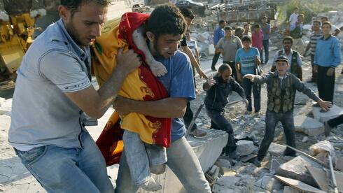 Die Schlacht in Syrien fordert weiterhin viele Opfer. Quelle: Reuters