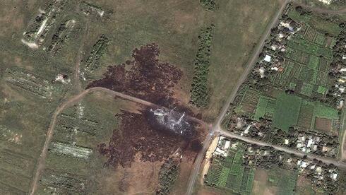MH17: Satellitenbilder zeigen die Absturzstelle