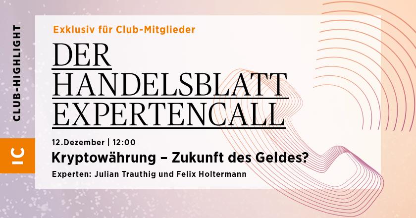 La llamada de expertos de Handelsblatt