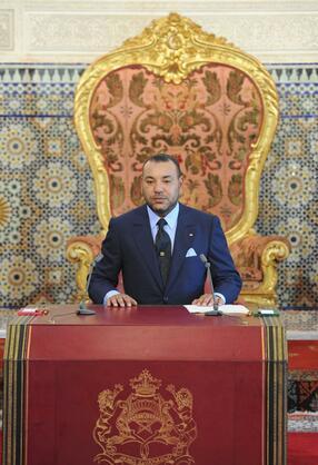 König Mohammed VI. von Marokko, hier ein Foto von 2010. Quelle: dpa