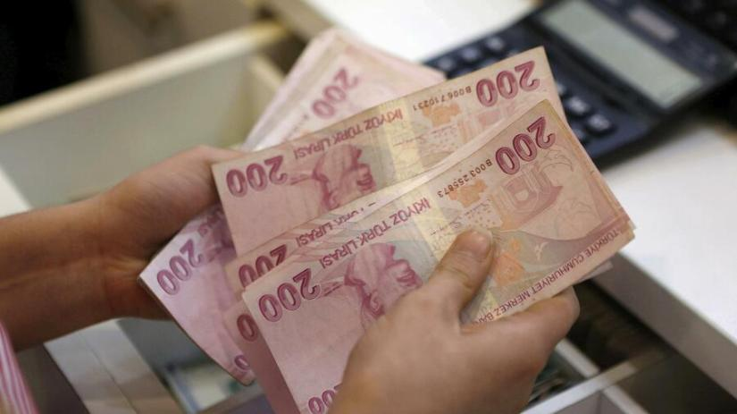 The Turkish national currency is on a downward slide.  Source: Reuters