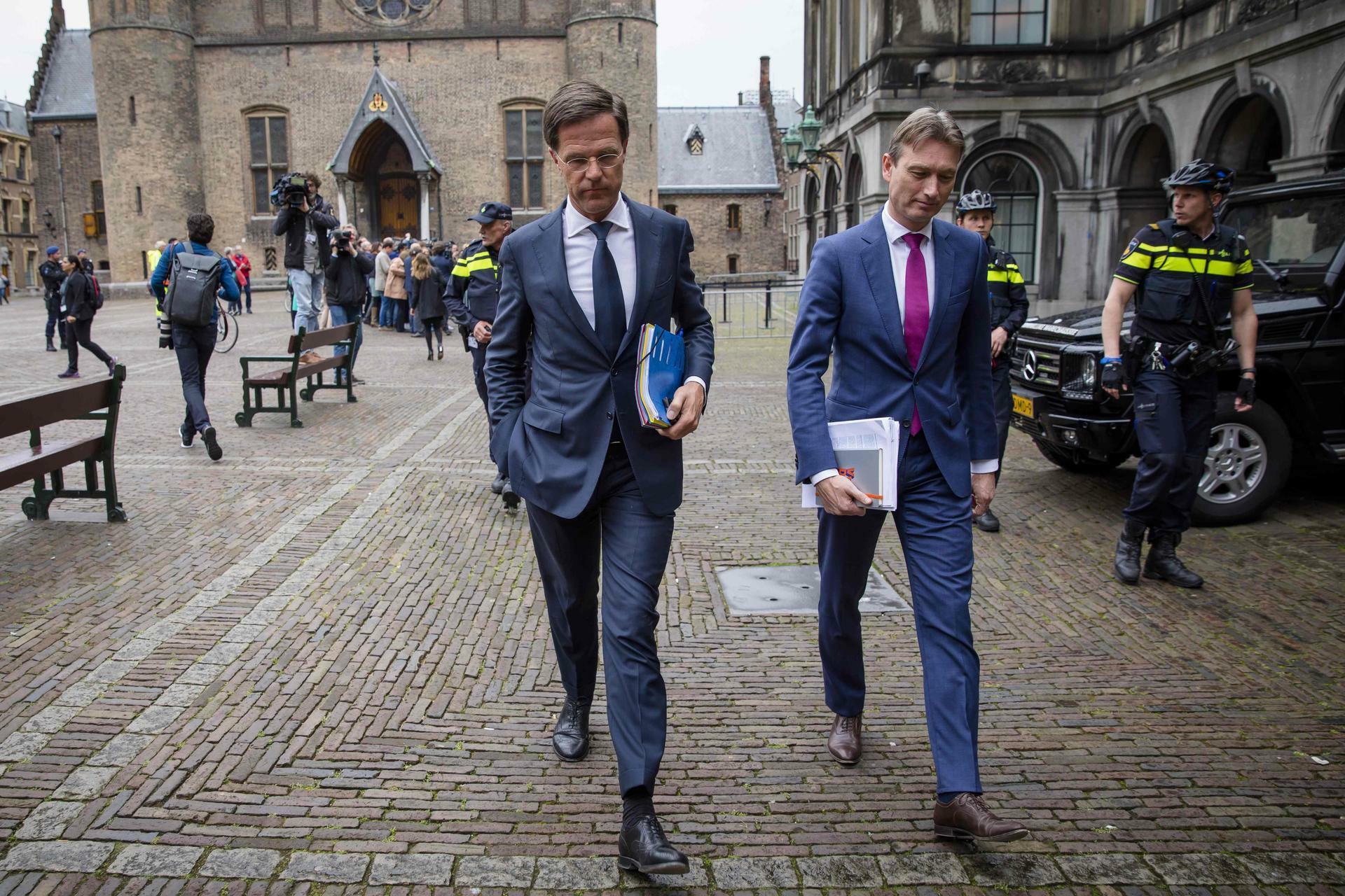 niederlande mark rutte steht weiterhin