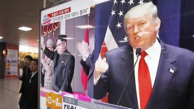 Bildergebnis für trump nordkorea