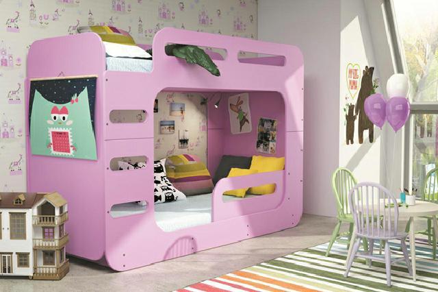 Doppelstockbett 'Max 2' in sechs Farben erhältlich