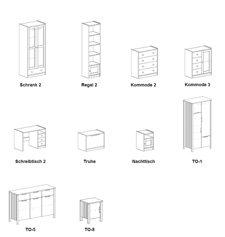 Kinderbett Jugendbett Hochbett + Schreibtisch Und Regal Bett