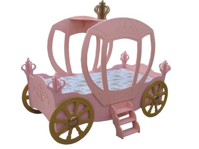 Mädchenbett 'Kutsche Prinzessin'