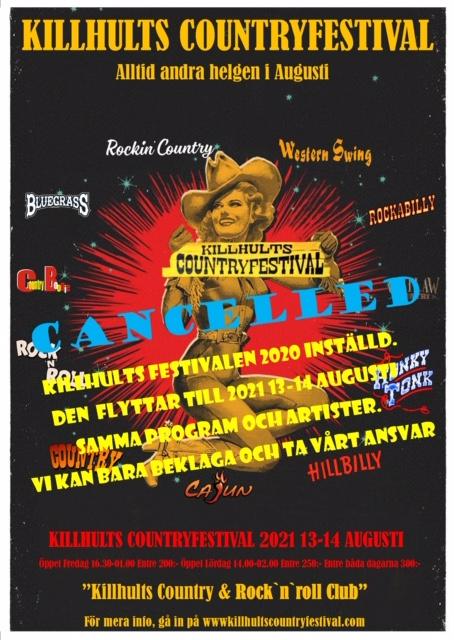 Killhults Countryfestival 2020 INSTÄLLD