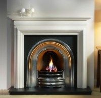 The Asquith Stone Mantel