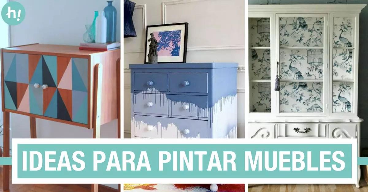 Da color a tus muebles antiguos 10 ideas para pintar muebles