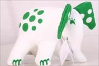 Elefant, grön