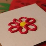 Måla blomma med Panupaint