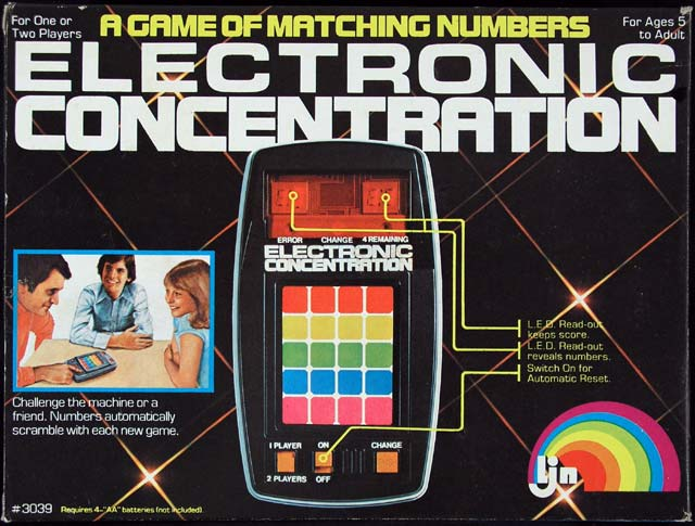 Electronic Concentration