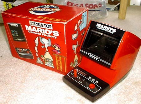 Nintendo Marios Cement Factory