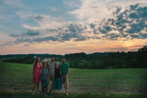 Kathy, Molly, Doug, Katie, And Andy of Hand Hewn Farm