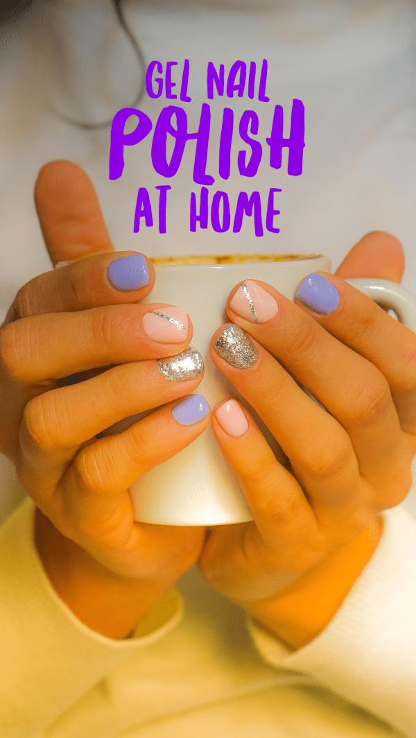 Gel nail polish at home