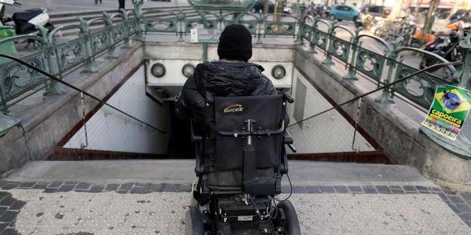 Photo accessibilite metro