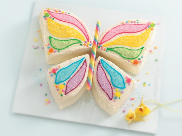 How To Make Butterfly Shaped Cake Cooking Handimania