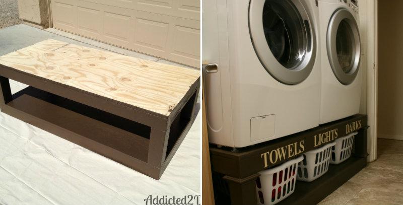 How to Make Laundry Pedestal Organizer  DIY  Crafts  Handimania